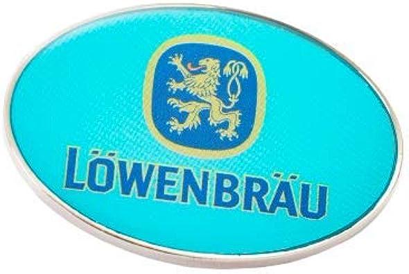 Löwenbräu Original Pin Oval Türkis Souvenir Geschenkidee Ansteck Pin Pins Schmuck