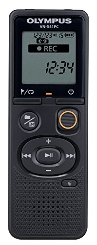 Olympus VN-541PC With PC Link 4GB Black Digital Voice Recorder (Renewed)