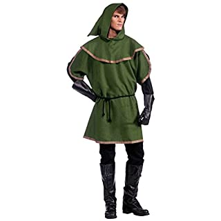Forum Novelties Men's Sherwood Forest Archer Costume, Multi, One Size