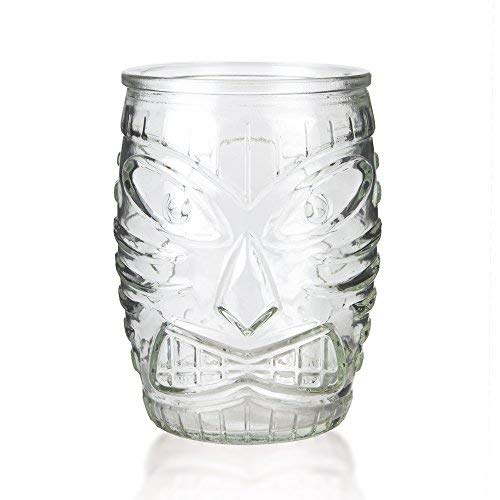 Libbey Glass Tiki Mug - Short Tumbler - 16 oz