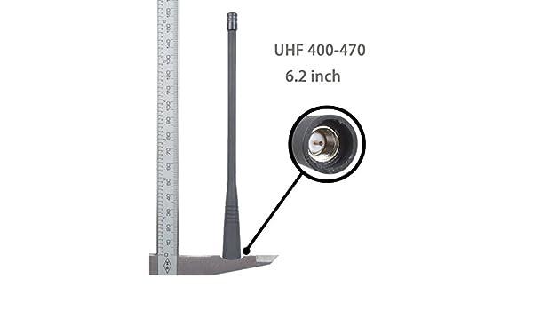 5x ATU-6A UHF Antenna for Vertex Standard RADIO 6.2 Inch