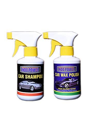 CAR Wax Polish Gun 250ml.+ CAR Shampoo Gun 250mL.