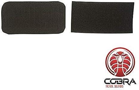 Cobra Tactical Solutions Patch Militaire /Écusson Brod/é avec sa lani/ère Hook /& Loop pour Airsoft//Paintball Drapeau Royaume-Uni pour Sac /à Dos Tactique V/êtements.