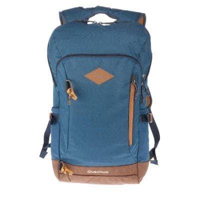 QUECHUA NH500 20 L - Mochila para senderismo, color azul