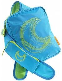 Agatha Ruiz De La Prada Sling-style Girls Backpack - Blue Moon 9x12