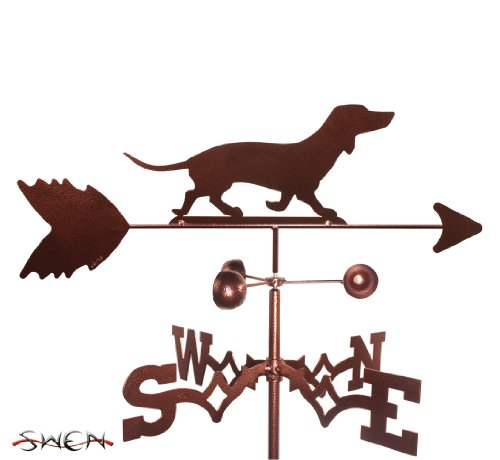 SWEN Products Hand Made Dachshund Dog Garden Stake Weathervane ~New~