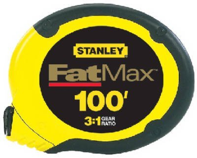 076174341300 - Stanley 34-130 100-Foot FatMax Long Tape Rule carousel main 0
