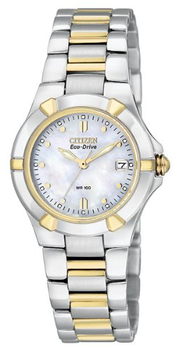 Citizen Women's Eco-Drive Watch with Date, EW1534-57D
