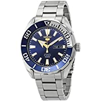 SEIKO 5 Sports 100m Automatic Blue Dial Watch SRPC51K1