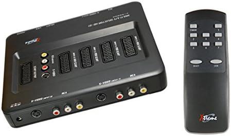 Xtreme 22900/Multi Scart Selector 7-Fach mit Fernbedienung