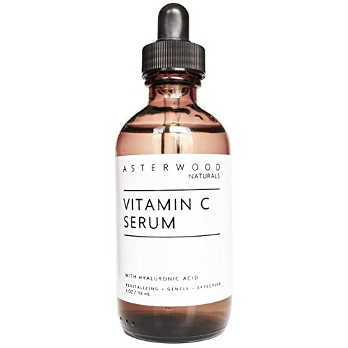 Vitamin C Serum 4 oz with Organic Hyaluronic Acid - Lighten