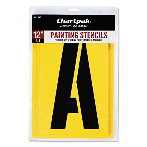 Chartpak Painting Stencil (CHA01590 - Chartpak Painting Stencil Set)