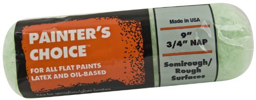Rough Roller (Wooster Brush R277-9 Painter's Choice Roller Cover, 3/4-Inch Nap, 9-Inch)