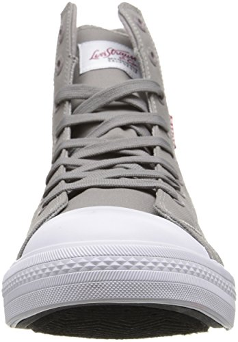 Levis Mens Hamilton Buck Ii Fashion Sneaker Grigio