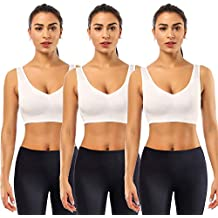 BESTENA Sports Bras for Women, Seamless Comfortable Yoga Bra with Removable Pads(Giving Laundry Bag)