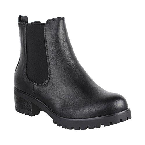 Noir Chelsea Femme Elara Elara Boots Boots qaBtYP