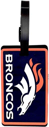 aminco NFL Denver Broncos Soft Bag Tag (Denver Airport-shops)