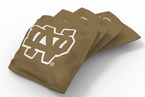 PROLINE NCAA College Notre Dame Fighting Irish Bean Bag Set (8 - Dame Game Notre Today