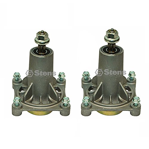 """2 Stens 285-585 Spindle Assembly AYP 187292 46"""", 48"""" and 54"""" Decks Poulan: 532 19 28-70 Ariens: 21546238"""