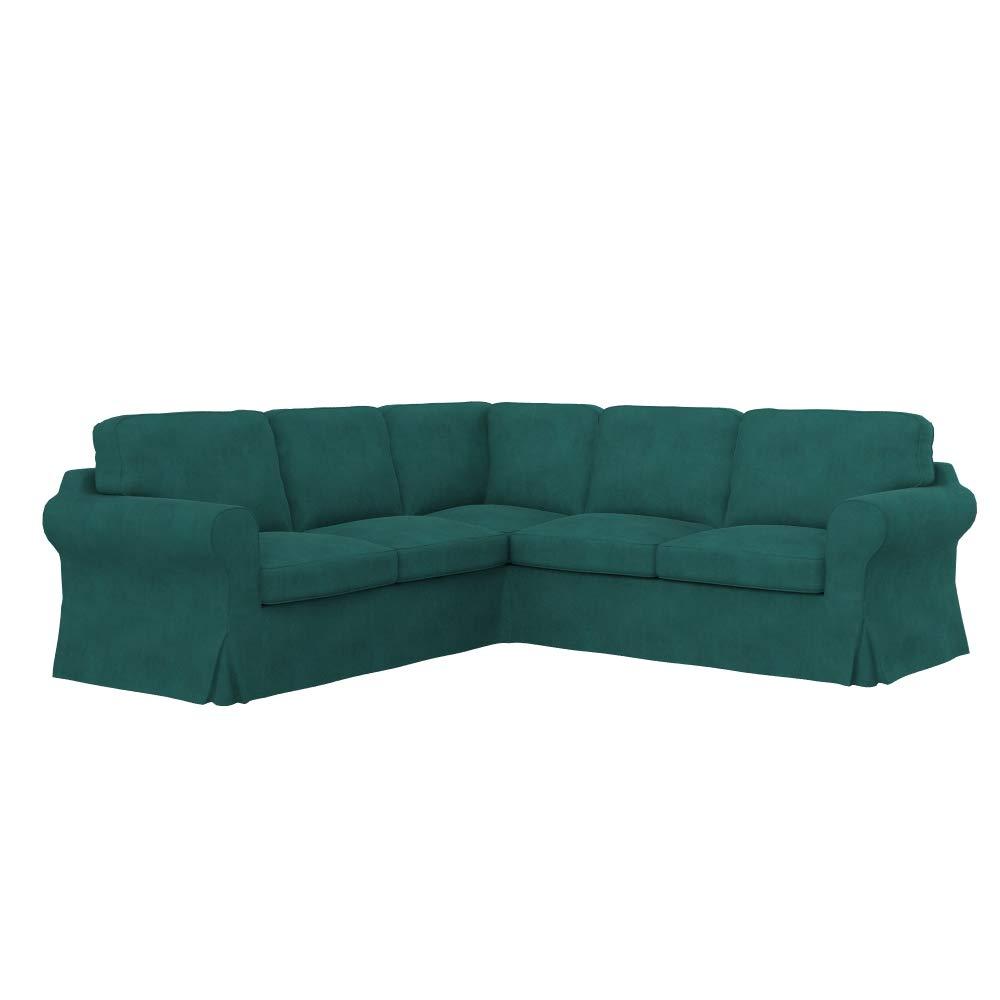 Soferia - Funda de Repuesto para sofá esquinero IKEA EKTORP ...