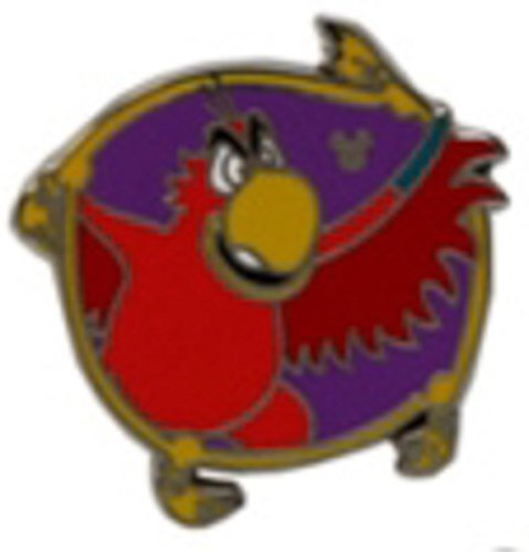 Disney Pin 102297: DLR - 2014 Hidden Mickey Series - Villainous Sidekicks - Iago Pin Bird from Alladin