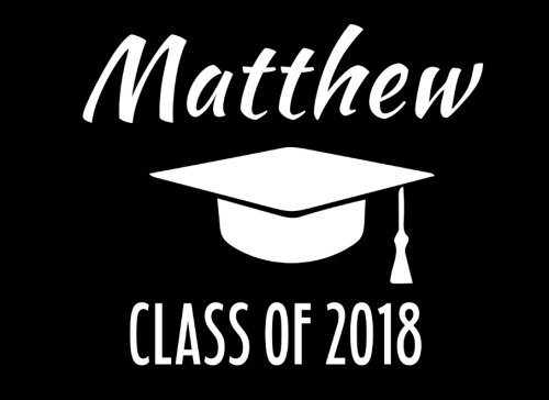 Download Matthew Class Of 2018: Graduation Cap Guest Book For Party, Personalized Gift. Graduate Advice or Autograph Book. (Tassel Zone) pdf