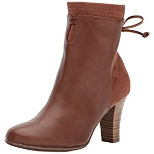 Aerosoles A2 Women's Leading Role Ankle Boot, Dark tan Combo, 10.5 M US