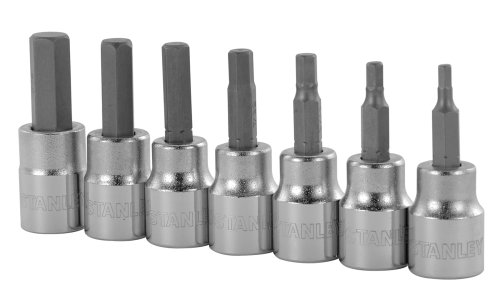 Stanley 85-707 7 Piece Standard Hex Bit Socket Set by Stanley
