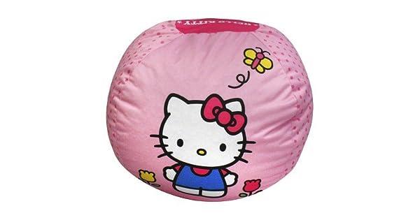Amazon.com: Mágico Harmony Kids Bean Bag – Hello Kitty – Puf ...