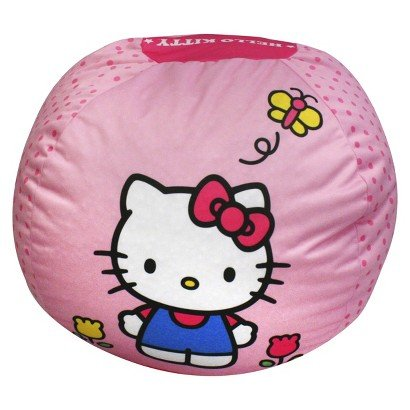 Magical Harmony Kids Bean Bag - Hello Kitty - Bean Bag Chair for kids - Bedroom and Living room Accessories - Kid's Collection -A-Must Have for your Baby Girl.