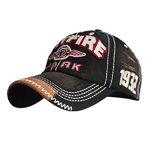 7c9bae2002f2e4 Cealu Unisex Retro Baseball Cap Embroidered Hip-Hop Truck Dad-Hat  Adjustable Outdoors Summer