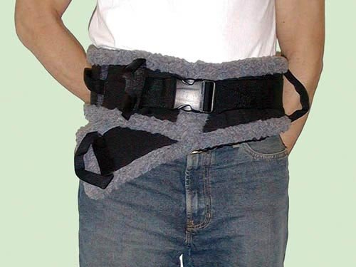 SPECIAL PACK OF 3-SafetySure Transfer Belt Sheepskin Lined Small 23 -36