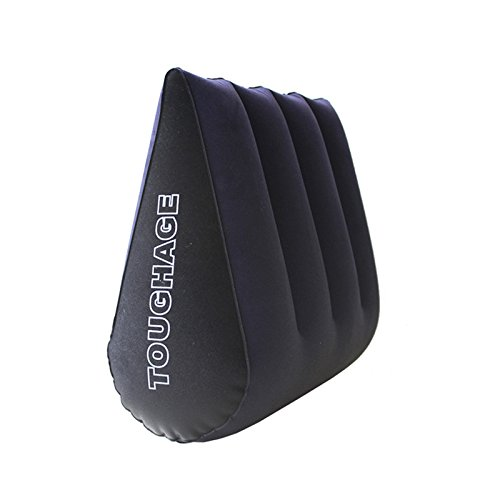 Sex Pillow Magic Triangle Pillow - ADSRO Portable Inflatable Triangle Pillow Cushion Multifunctional Plush Case Sex Cushion for Couples and Self-entertainment