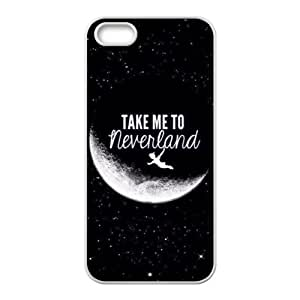 Take Me To Neverland Hot Seller Stylish Hard Case For Iphone 5s