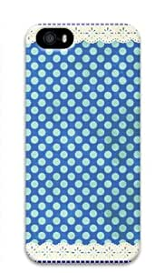 Shocklock Lovely Wave Point Pattern-3 Iphone 5/5S Hard Protective 3D Case