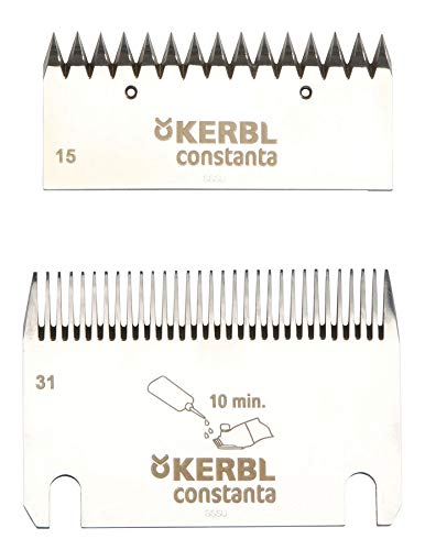 Kerbl - 18910 / Constanta 3 - Lot de lames 15/31 dents