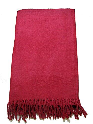 - Tibetan Meditation Shawl 100% Yak Wool Handloom, Maroon
