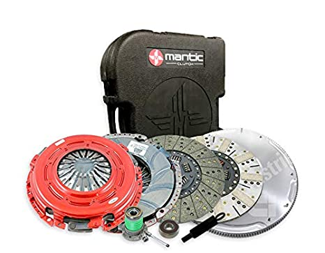 Mantic Stage Premium Clutch Kit | Mantic ER2 Heavy Duty Cover Assembly | Organic Cerametallic Clutch