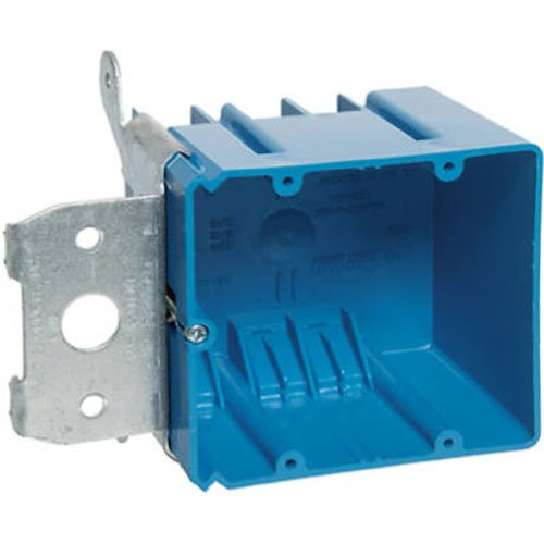 Carlon B234ADJ Outlet Box, New Work, 2 Gang, 3-5/8-Inch Length by 5-5/8-Inch Width by 3-Inch Depth, - Gang Carlon Box