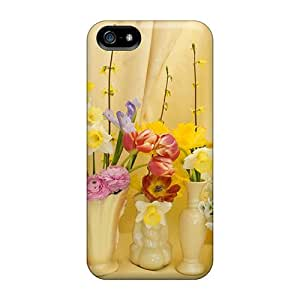 Durable Cases For The Iphone 5/5s- Eco-friendly Retail Packaging(spring Bouquet)