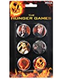 "The Hunger Games Movie Pin Set 6pc ""Cast"""