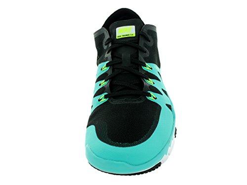 Nike Menns Free Trainer 3.0 V3 Trening Sko Svart / Volt / Lt Retro / Hvit