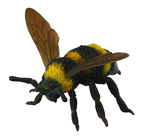 Collecta Insects Bumble Bee Toy Figure - Authentic Hand P...