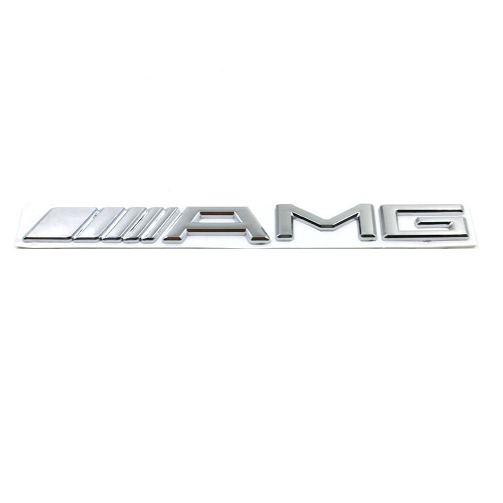 New 3D Car Logo Silver Chrome Trunk Sticker Decal Badge Emblem Autos Vehicles by Stickers