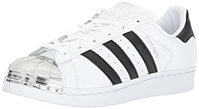Amazon.com | adidas Originals Women's Superstar Metal Toe ...