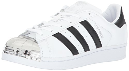 adidas Originals Women's Superstar Metal Toe W Skate Shoe ...