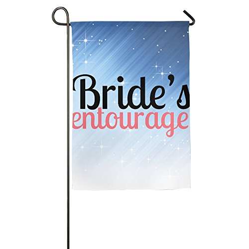 - Buecoutes Bride's Entourage Home Family Party Flag 1827inch Hipster Welcomes The Banner Garden Flags