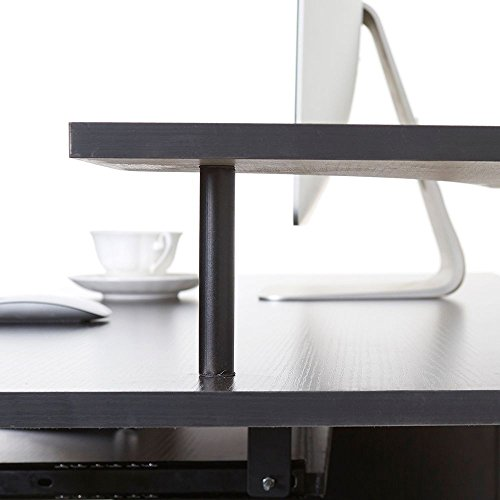 Eight24hours Computer Desk PC Table Workstation Monitor&Printer Shelf Home Office Furniture + FREE E - Book by Eight24hours (Image #2)