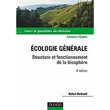 Écologie générale - 6e éd. : Structure et fonctionnement de la biosphère (Sciences de la vie) (French Edition)