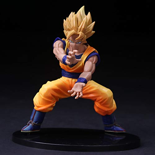 KattyPT Action & Toy Figures - Dragon Z Ball Cell Vs Son Goku and Son Gohan PVC Action Figure Model Toy Super Saiyan Battle Display Toy Cartoon Birthday Gift 1 PCs